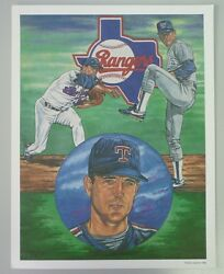 Lot Of 6 Mlb 1992 Classic Sports Numbered And Colored Baseball Prints