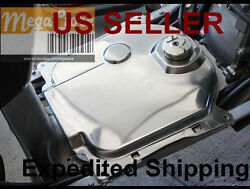 Scooter Zoomer 50cc Scooter Stainless Steel Gas Fuel Tank Cover For Honda Ruckus