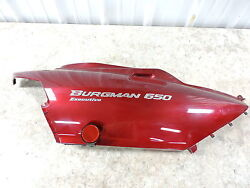 07 Suzuki An650 An 650 A Burgman Scooter Right Rear Back Side Cover Panel Cowl