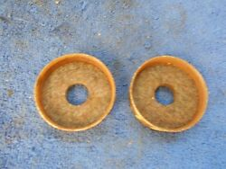 Ford Model T Rear Axle Seal Felts And Retainers Pair New 816