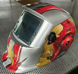 Ronwww Solar Auto Darkening Welding And Grinding Helmet Hood Mask Usa Delivery