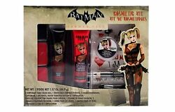 Womens BATMAN Arkham City Videogame Harley Quinn Makeup Cosmetic Kit $14.95