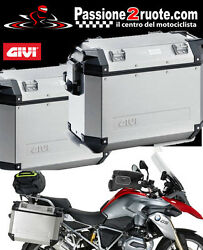 Givi Trekker Outback 37 Pair Suitcases Brackets Side Bmw R1200gs R 1200 Gs 13