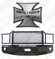 Iron Cross Hd Grille Guard Front Bumper For 1992-1996 Ford F150 F250 F350 Truck