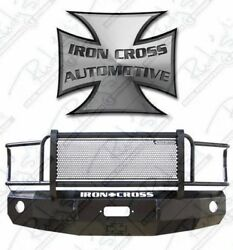 Iron Cross Hd Grille Guard Front Bumper For 2008-2010 Ford F250 F350 F450