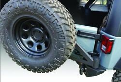 Iron Cross Full Size Rear Bumper With Tire Carrier For 2007-2015 Jeep Wrangler