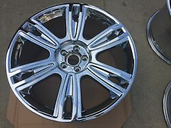 21 Nw Chrome Oem Factory Bentley 1 Wheel Mulliner Flying Spur Continental Speed