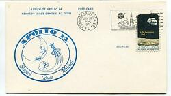 1971 Apollo 14 Shepard Roosa Mitchell Kennedy Space Center Florida Space Cover