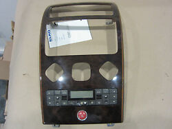 Maserati Quattroporte - Center Dash Panel With Climate Controls. Part#67305400