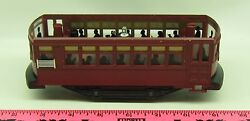 Lionel 101 Holiday Trolley Car Part Bottom Frame And Motor