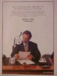1996 Peanuts Snoopy Amimation Art Met Life Financial 8 X 10 1/2 Size Print Ad