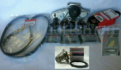 2009-2014 Acura Tl Complete Timing Belt Water Pump And Thermostat And Spark Plugs