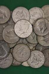 Make Offer 2 Troy Pounds 1964 Kennedy Half Dollars 90 Silver Junk Coins