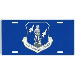 AIR FORCE NATIONAL GUARD METAL AUTO TAG CAR LICENSE PLATE USA MADE
