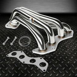 For 08-15 Scion Xb 2.4l/4cyl Pair Of Stainless Steel Exhaust Manifold Header