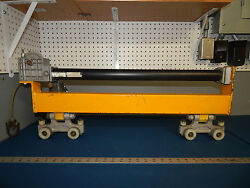 Air Tool Trolley With 2 Unified Ind Trolleys And Tol-o-matic Cable Stroke