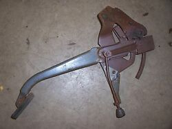 1949 Buick Super Interior Parking Brake Foot Pedal Assembly Mount Hot Rod Parts
