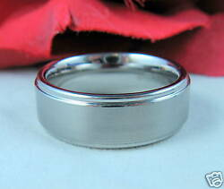 Tungsten Heavy Brushed Ring 10.5 Feral Cat Rescue