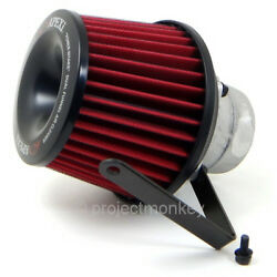 Apexi 508-h004 Power Intake Dual Funnel Air Filter Fits 94-01 Acura Integra Dc2