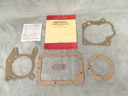 1952-55 Ford 6 And 8 Cylinder With Overdrive Transmission Gasket Set Nors 117