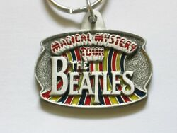 Beatles Music Group Tour Keychain Magical Mystery Tour Collectible