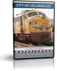 City Of Los Angeles, Union Pacific Streamliner - Sunday River Train Dvd Video