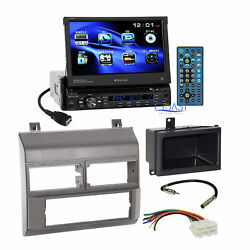 Planet Audio Car DVD Stereo Gray Dash Kit Harness for 88-94 Chevy GMC Truck