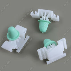 10x Side Protector Trim Molding Clips For Bmw E36 New