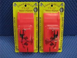 Church Tackle Tx-12 Mini Planer Board - Port And Starboard 2 Pack