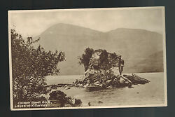 Mint Picture Postcard Ireland County Kerry Killarney Colleen Bawn Rock with tree