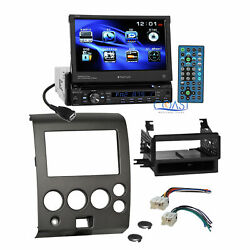 Planet Audio DVD Motorized Stereo Dash Kit Harness for 04+ Nissan Armada Titan