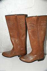 Riding Boots Leather Brown Golden Goose Size 36 Uk 3,5 New/box Value