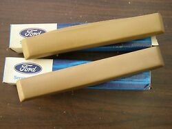 Nos Oem Ford 1965 Mustang Interior Arm Rest Pads Palomino 1964.5 1964 1/2