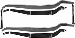 New 32 Ford Frame Rail And Boxing Plate Kit With Black Spreader Bars12 Pieces