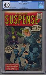 Tales Of Suspense 1 Cgc 4.0 Marvel Rare First Issue