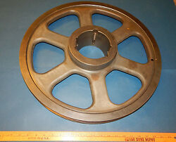2 5v 21.2 Pulley Sheave Double Groove Cast Iron 21-1/4 21.25 Od 25v212