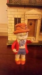 Antique Bisque Doll Skippy Comic Strip Character By Crosby 1920