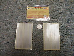 Walthers Decals O Gauge Specialties Combination Stripes Silver J111