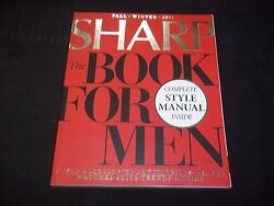 2011 Fall/winter Sharp Magazine The Book For Men - Fashion And Photos - J 1231