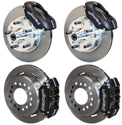 WILWOOD DISC BRAKE KIT60-72 DODGE & PLYMOUTH A-BODY W9