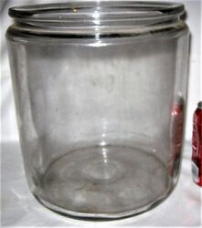 Antique Country Primitive Kitchen Glass Candy Nut Pickle Jar Apothecary Medicine