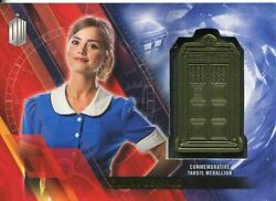 Doctor Who Timeless Gold Parallel [#5] Tardis Card Clara Oswald
