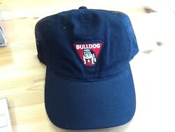 NWOT Bulldog Trailer Jacks Logo Black Hat Trucker Mesh Back