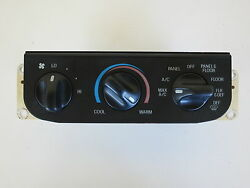 97 98 Ford F-150 F150 Climate Control Panel Temperature Unit AC Heater