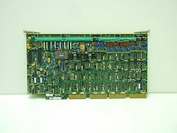 Kt / Kearney And Trecker 871-21234-05 Used Analog Interface Assy Board 8712123405