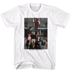 Breakfast Club 80and039s Brat Pack Teen Movie Library Movie Poster Adult T-shirt