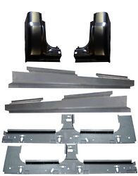1999-2017 Ford Super Duty Crew Cab Inner And Full Outer Rocker Panel And Cab Corners