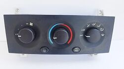 99-04 Jeep Grand Cherokee HEATER CONTROL UNIT with AC 55115904 DEFROST AC