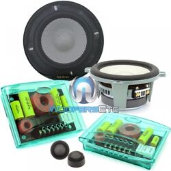 Infinity Kappa Perfect 5.1 5.25 400w Component Speakers Tweeters Crossovers New