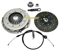 FXR PERFORMANCE CLUTCH KIT w CABLE 1986-1995 FORD MUSTANG 5.0L MERCURY CAPRI RS